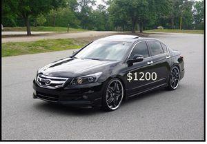 Price $1200 Great shape.2wdWheels 2008 Honda Accord EX-L for Sale in Washington, DC