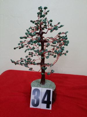AGATE STONE TREE , GREEN STONE COLOR, for Sale in Jersey City, NJ