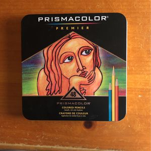48-Count Premier Set Prismacolor Colored Pencils for Sale in Running Springs, CA