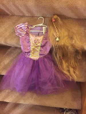 Rapunzel costume 4-6X for Sale in Lakeville, MN