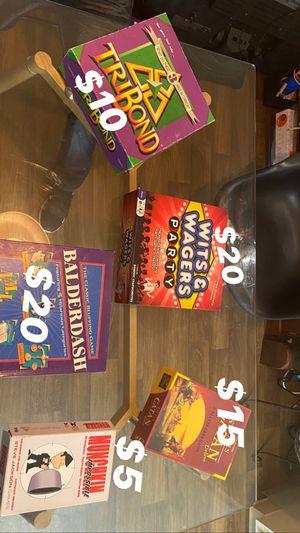 Board Games for Sale in Las Vegas, NV