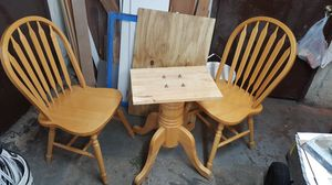 Solid Wood Kitchen Table Chairs Dining Set for Sale in Brooklyn, NY