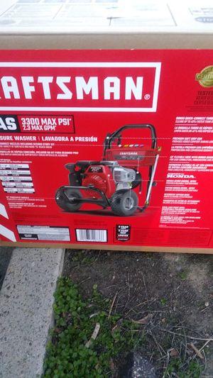 Craftsman 3300 psi pressure washer for Sale in Turlock, CA
