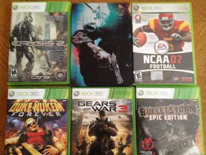 6 XBOX 360 Games for Sale in Denver, CO