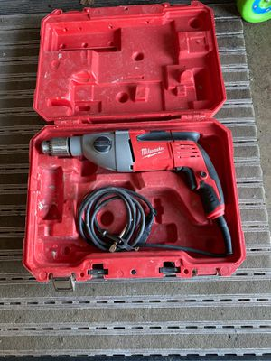 Milwaukee 8amp 1/2 magnum drill for Sale in Plainfield, IL