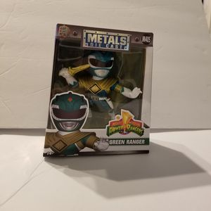 Mighty Morphin Power Rangers Green Ranger die Cast figure for Sale in Greensboro, NC