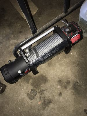Brand new 9500 lb winch smittybuilt for Sale in Hemet, CA
