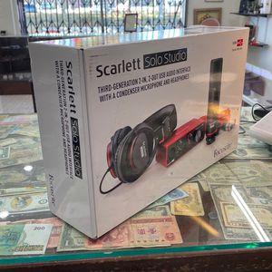 Scarlett Solo Studio Generation 3 Focusrite for Sale in Temple City, CA