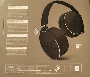 AKG Y50BT Wireless Headphone for Sale in Annandale, VA