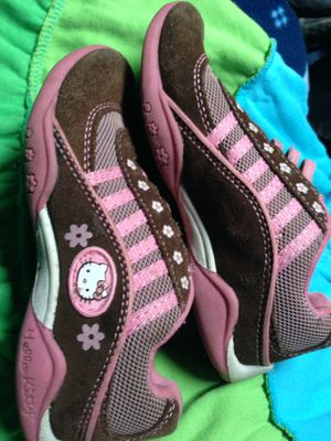 Girls Size 10.5C Hello Kitty Sneakers for Sale in Federal Way, WA
