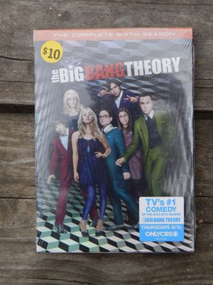 BRAND NEW Big Bang Theory the complete 6th season for Sale in undefined