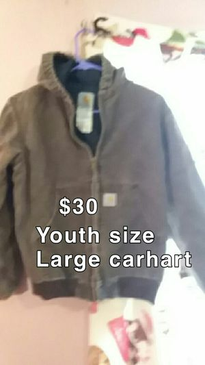 Cathcart jacket size YL for Sale in Trinity, AL