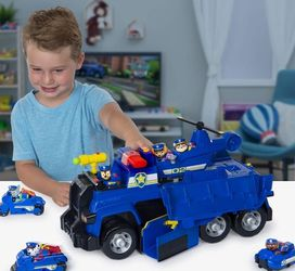 Paw Patrol Chase 5 in 1 Ultimate Cruiser With Lights And Sounds for Sale in Cicero,  IL