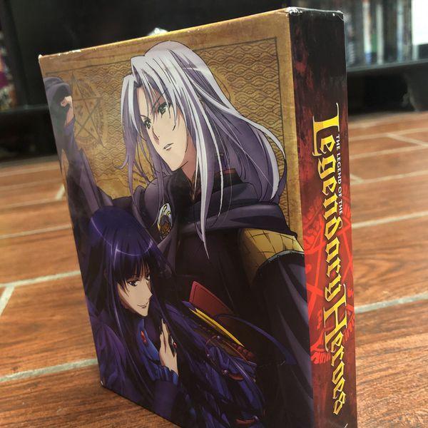 Legend Of The Legendary Heroes Bluray/DVD Combo Boxset