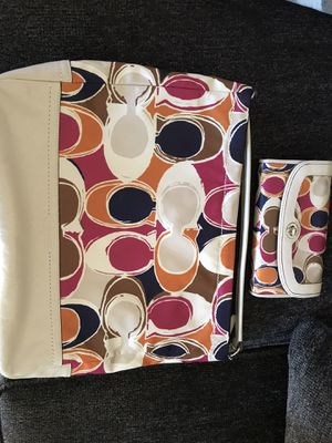 Coach purse and matching wallet for Sale in La Mesa, CA