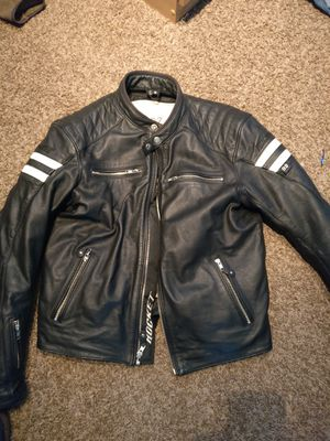 Leather motorcycle jackets for Sale in Syracuse, UT