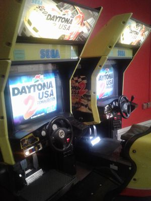 Sega's Daytona USA 2 Arcade Video Game (just selling 1) - From Popstar Mansion for Sale in Orlando, FL