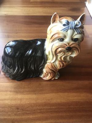 Ceramic Yorkshire Terrier statue/figurine- made in Italy for Sale in Miami Gardens, FL