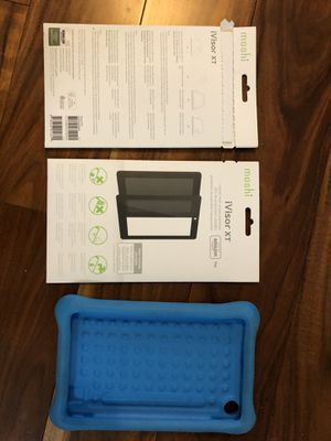 Kindle fire kids 7 case and screen protectors for Sale in Round Rock, TX