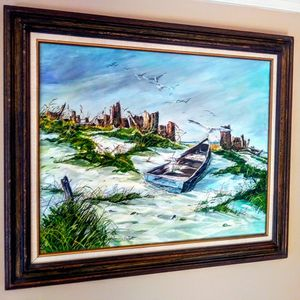 Original Framed Painting On Canvas for Sale in Kenmore, WA