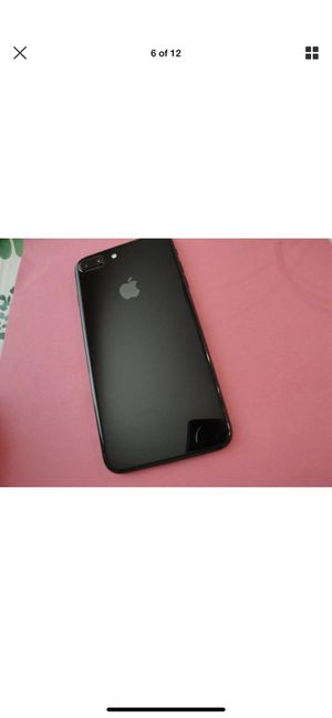 Apple iPhone 7 Plus 32gb cricket jet black clean imei for Sale in Corona, CA