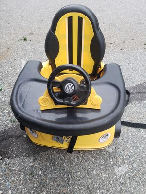 Baby Volkswagen beetle booster seat eating Tray! for Sale in Montclair, CA