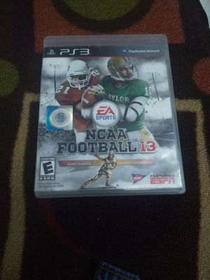 NCAA Football 13 ps3 for Sale in Austin, TX