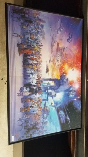 Star was poster in frame for Sale in Renton, WA