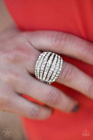 New ring color silver with bling bling for Sale in Orange, CA