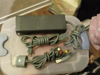 xbox 360 power plug and three colors for Sale in Riverside,  CA
