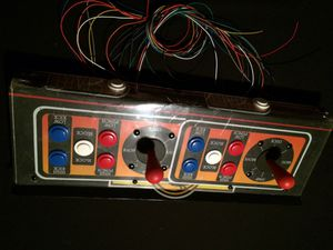 Arcade Control panel pulled from a Sega gremlin cab for Sale in Las Vegas, NV