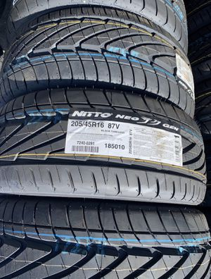 "16"" NITTO NEO GEN Tires 205/45R16 ....$69 EA for Sale in La Habra Heights, CA"