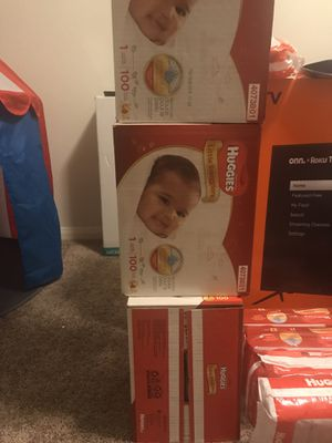 Huggies diapers for Sale in San Antonio, TX