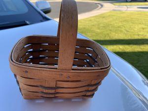 Longaberger original numbered basket for Sale in Sun Lakes, AZ