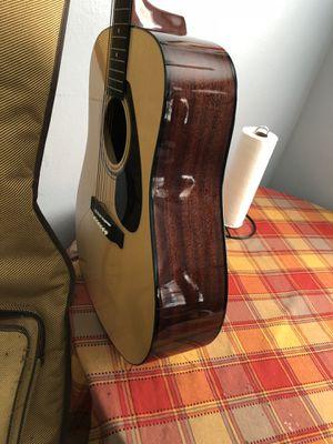 Yamaha FD01S Acoustic guitar/ one broken string for Sale in Lakeland, FL