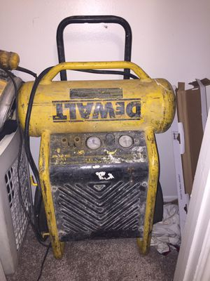 Dewalt air compressor for Sale in Houston, TX