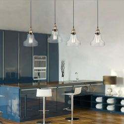 Modern Vintage Industrial Retro Loft Glass Ceiling Lamp Shade Pendant Light for Sale in Dallas,  TX