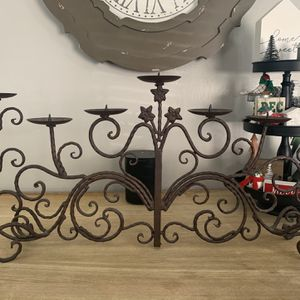 """Wrout Iron Candelabra 30""""x 15"""" for Sale in Carson, CA"""