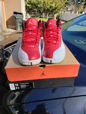 Retro jordan 12s University red gym red for Sale in Tacoma, WA