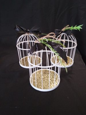 Birdcage candle holders for Sale in Los Angeles, CA