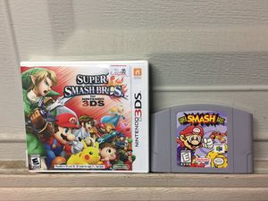 Nintendo Smash Bros Games For Sale for Sale in Austin, TX