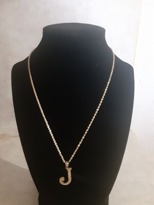 10k gold chain and pendant for Sale in Seagoville, TX
