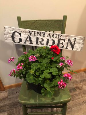 Barn-wood Garden Signs for Sale in Breezy Point, MN