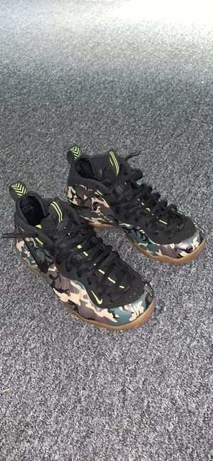 Nike Air Foamposite Pro Army Camo Size 10 for Sale in Brooklyn, NY