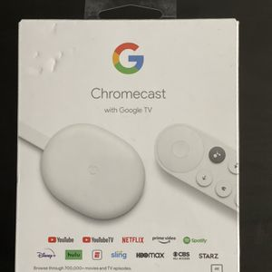 Chromecast with Google TV for Sale in Edison, NJ