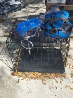 Small Dog Crate And Accessories for Sale in Riverview,  FL