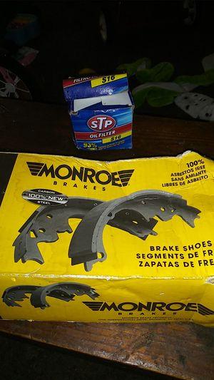 Monroe brakes/ STP oil filter. S16 for Sale in White Hall, WV
