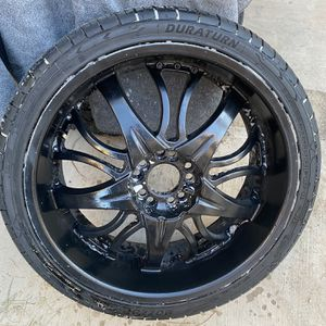 20 Inch Rims For Mustang Brand New Tires Also. for Sale in Las Vegas, NV