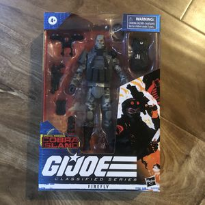 G.I. Joe Classified Series Special Missions: Cobra Island Firefly for Sale in Placentia, CA