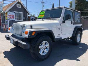 2005 Jeep Wrangler for Sale in Riverbank, CA